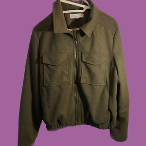 Army Green Lined Jacket